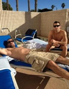 cousins shirtless